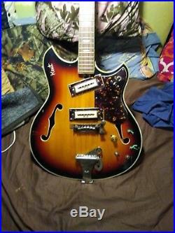 1960s Kent Model 820 Vint vintage electric guitar Japan kawai flame maple
