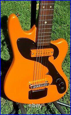 1960s VINTAGE Japan Tesico Offsett Hot Rod Guitar Retro by Logtown Guitars
