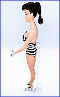 1960s Vintage Ponytail BARBIE #5 Japan Mattel #850 Brunette