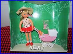 1966 EXTREMELY RARE Barbie Vtg. TUTTIBOXED SETWALKIN`MY DOLLY! 3552NEW+MINT