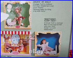 1966 EXTREMELY RARE Vtg. TUTTIBOXED SETNIGHT NIGHT SLEEP TIGHT3553NEW+MINT