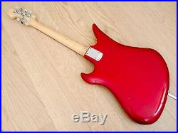 1966 Teisco Spectrum 5 Vintage Stereo Electric Guitar Red Japan with Case
