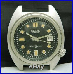 1968 SEIKO AUTOMATIC 150M PROOF DIVER 6105-8000 Apocalypse Now Mens WATCH 8009