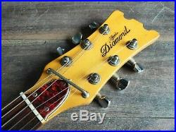 1970's Aria Diamond 1702T Mosrite Style Vintage Guitar (Made in Japan)