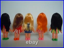 1970's Chika / Chiko Chan Shiba Dolls Era / My-toy Co. Tiny Terry Clone Japan L3