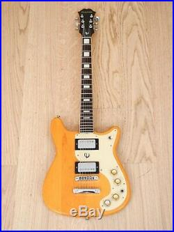 1970s Epiphone Wilshire Vintage Electric Guitar Maple Set Neck Japan Matsumoku