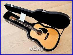 1975 Morris W-45 Vintage Dreadnought Acoustic Guitar Japan Terada with Case