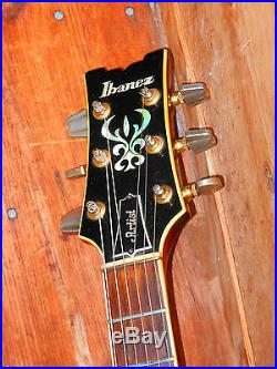 1979 Vintage Guitar Ibanez Artist Sunburst Set Neck DiMario PU Maple Top Japan