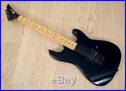 1980s Charvel by Jackson Model 1 Super Strat Vintage Electric Guitar Black Japan
