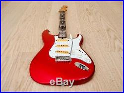 1983 Squier by Fender Stratocaster'62 Vintage Reissue Candy Apple Red JV Japan