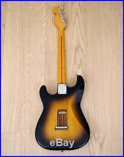 1984 Squier by Fender Stratocaster'57 Vintage Reissue Sunburst JV Japan Fujigen