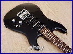 1985 BC Rich RST-70 Vintage Electric Guitar HSS Black Japan with Kahler Tremolo
