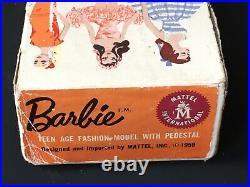 # 2 Vintage Ponytail Barbie Brunette Two
