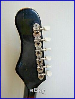 60's Vintage Zenon Victoria (ZES-60) electric guitar silver foil pickup Japan