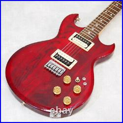 Aria Pro II CS-350 1980s vintage electric guitar3.3kg RED from japan Excellent