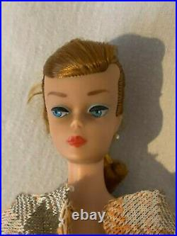 Barbie Teen Age Fashion Model Stock No. 850 1962 by Mattel Redhead Ponytail