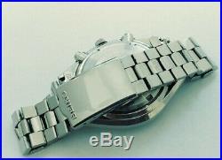 Beautiful Seiko Panda Ref 6138-8020 Automatic Chronograph Japanese Watch 1975
