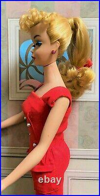 Beautiful Vintage #4 Blonde Ponytail One Owner Doll OOAKA HEARTWHISPER BEAUTY