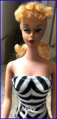 Breathtaking Vintage #4 Blonde Barbie Ponytail STUNNING