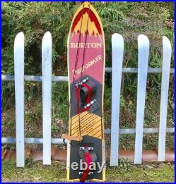 Burton Snowboard Initial Model Vintage Good condition Rare F/S Japan