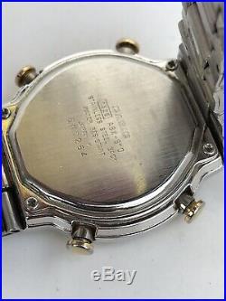 Casio ABX-610 Twincept Watch, World Time Module 1326 Vintage Old Retro Japan