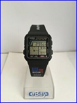Casio AE-22W Twin-graph II Module 808 Japan Year 1988 PLEASE Read Description