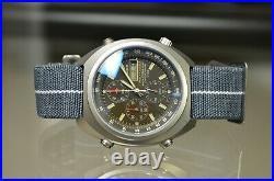 Casio Tic-100 Timber Cruiser 1325 Illuminator Dive Watch 200m Vintage MD Dro Prt