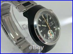 Citizen Chronograph Automatic 70er Vintage 8100 4-900031TA PVD JAPAN Traumzust