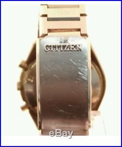 Citizen Chronograph Automatic 70er Vintage 8100A 4-900022K PVD JAPAN