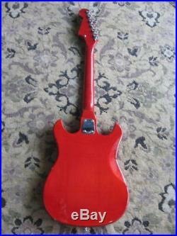 Crestwood electric guitar vintage made in Japan