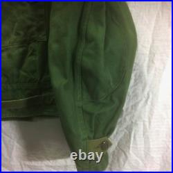 Dead stock 60s Swedish Army Motorcycle jacket Vintage from Japan free shipping