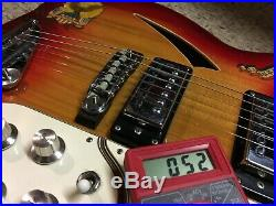 ENCORE (by MATSUMOKU) electric GUITAR. VINTAGE ca 1970's