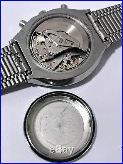Excellent Rare Vintage 1979 Seiko 6139-7060 Chronograph! USA Seller