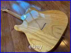 FENDER VINTAGE MID 80's TELECASTER 1952 REISSUE FUJIGEN A-SERIAL ASH with USA PUPS
