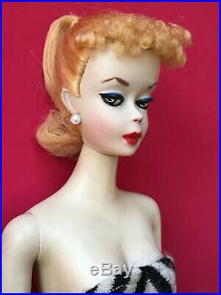 Faux # 2 (# 1 Face) From A Vintage # 3 Ponytail Barbie blonde