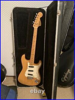 Fender Crafted In Japan 68-70 Rare Reissue BigHeadstock Nat 97-99 Vintage