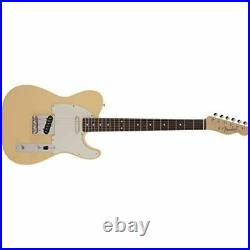 Fender Electric Guitar Made in Japan Traditional 60s Telecaster Vintage White