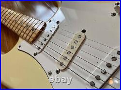 Fender Grunge-era 1972 Stratocaster Vintage 1995 Fujigen Mij Olympic White