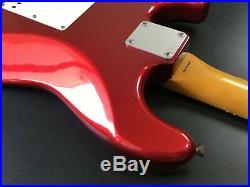 Fender Japan Stratocaster ST62'62 Vintage Reissue Candy Apple Red Made in Japan