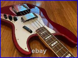 Fender Jazz Bass'75 Vintage Ri Jb75 Old Candy Apple Red Japan Mij 2005