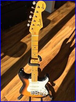 Fender Stratocaster 1st Squier Series JV, 1982, two tone sunburst 57 vintage