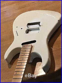 Fernandes FR-65 White ELECTRIC GUITAR body Neck Charvel Floyd Rose Ready Vintage