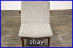 Finn Juhl Japan Grey Danish Teak Lounge Chair France And Son