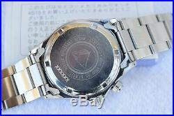 Full Kit- Seiko Red Alpinist SCVF005 Black Dial Automatic 4S15-6000 Hi-Beat 1996