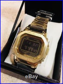 G-SHOCK GOLD full metal GMW-B5000GD-9JF New 2018 CASIO EMS F/S
