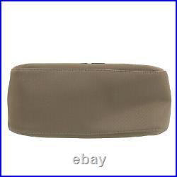 GIVENCHY Logos Shoulder Hand Bag Beige Nylon Canvas Authentic #AC438 O