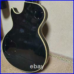 GRECO Electric Vintage Guitar Les Paul Type EG500 Black Color 81s Used Japan 2
