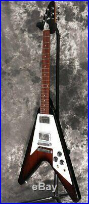Gibson Flying V 2015 Japan Limited Vintage Sunburst, Regular Condition