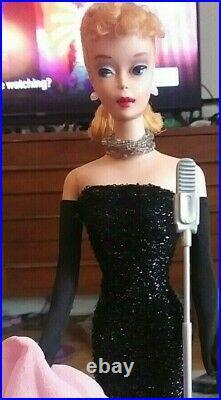 Gorgeous Vintage #4 Blonde Ponytail Barbie! BREATHTAKING DOLL