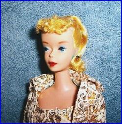 Gorgeous Vintage #4 Blonde Ponytail Barbie! BREATHTAKING DOLL! SALE